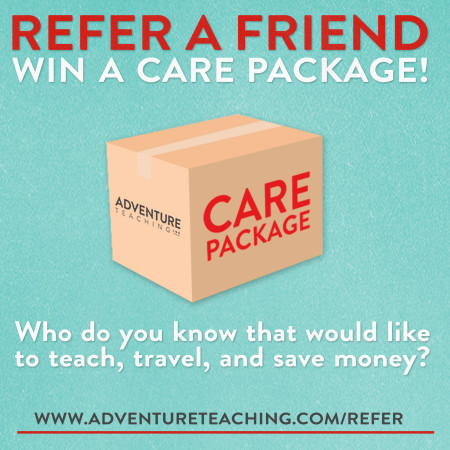 Click here to refer a friend and win a care package!